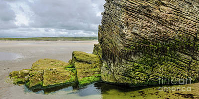 Photograph - Rocks Of Maghera Beach Ireland #15 by Lexa Harpell