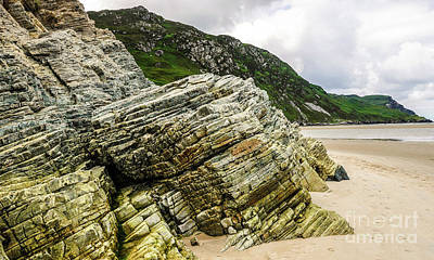 Photograph - Rocks Of Maghera Beach Ireland #7 by Lexa Harpell