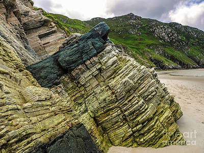Photograph - Rocks Of Maghera Beach Ireland #8 by Lexa Harpell