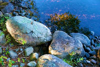 Photograph - Rocks Of Stillness by Polly Castor