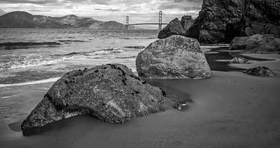 Photograph - Rocks On China Beach by Judith Barath