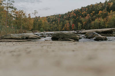 Photograph - Rocks On Cumberland River by Amber Flowers