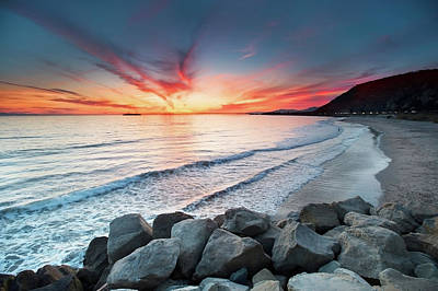 Malibu Photograph - Rocks On Sea by John B. Mueller Photography
