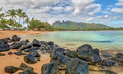 Photograph - Rocks On The Beach  by Ian Sempowski