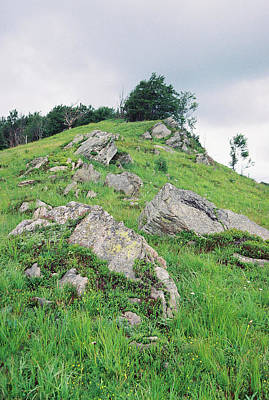 Rocks On The Mountain Art Print