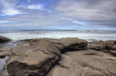 Photograph - Rocks On The Oregon Coast by Tyra OBryant