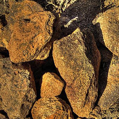 Photograph - Rocks On The Sonoran Desert by Roger Passman