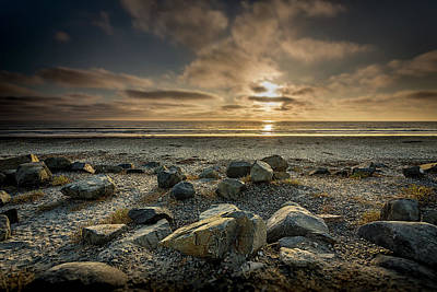 Featured Images Photograph - Rocks by Peter Tellone