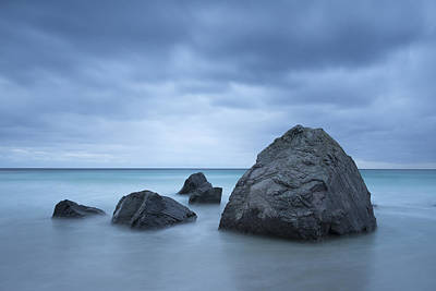 Before Dusk Photograph - Rocks by Timm Chapman