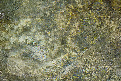 Photograph - Rocks Under The Soca River - Slovenia by Stuart Litoff