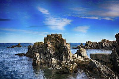 Photograph - Rocks, Water And Sky by Tatiana Travelways