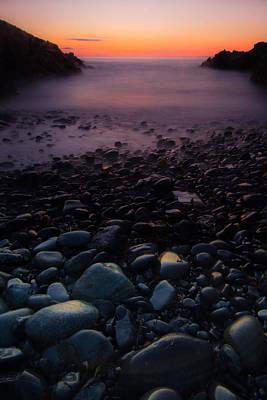 Rocks Art Print by William Sanger