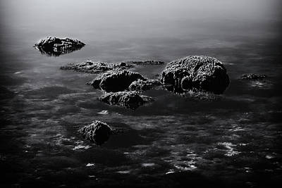 Photograph - Rocks3173bw by Rudy Umans