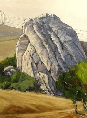 Painting - Rockscape by Kevin Davidson