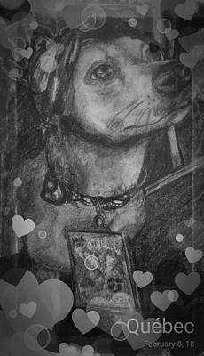Def Leppard Drawing - rockstar Stuart  by Luisa Gatti