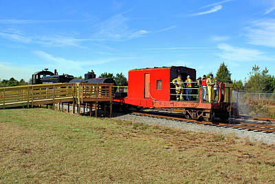 Photograph - Rockton Rion Western Caboose 10 by Joseph C Hinson Photography