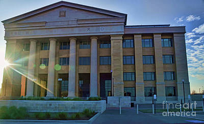 Photograph - Rockwall Court House by Diana Mary Sharpton