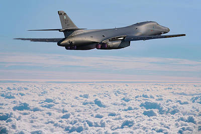 Photograph - Rockwell B1 Lancer by Ken Brannen