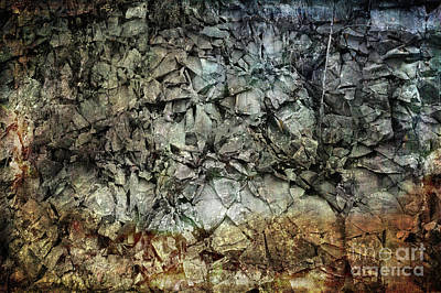Photograph - Rocky Abstraction by Randi Grace Nilsberg