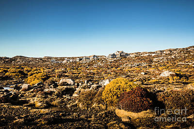 Ski House Wall Art - Photograph - Rocky Alpine Village by Jorgo Photography - Wall Art Gallery