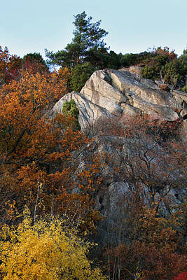 Mountain Art Photograph - Rocky Autumn by Lutz Baar