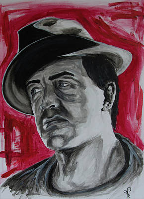 Stallone Painting - Rocky Balboa by Artistyf