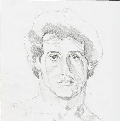 Sylvester Stallone Drawing - Rocky Balboa by DeLight