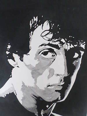 Stallone Painting - Rocky Balboa by Neil Lugg