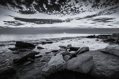 Photograph - Rocky Beach At Dawn by Michael Damiani