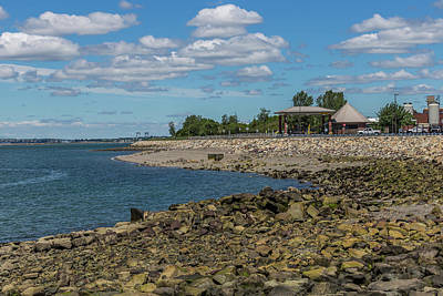 Photograph - Rocky Beach At Deer Island by Brian MacLean