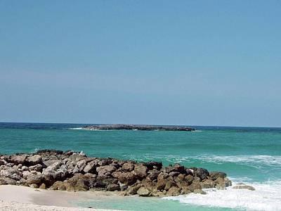 Photograph - Rocky Beach by Gary Wonning