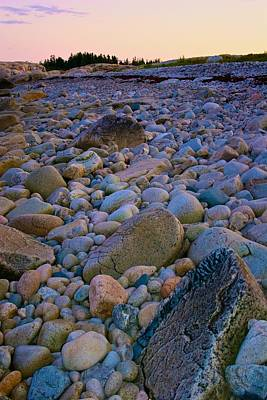 Photograph - Rocky Beach In Acadia by Polly Castor
