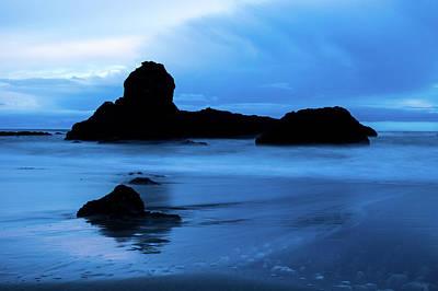Photograph - Rocky Beach by Jedediah Hohf