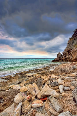 Photograph - Rocky Beach by Nadia Sanowar