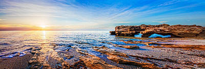 Photograph - Rocky Beach Panorama by Debra and Dave Vanderlaan