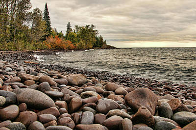 Photograph - Rocky Beach by Steve Stuller