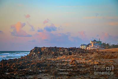 Photograph - Rocky Beach Sunrise by Tom Claud