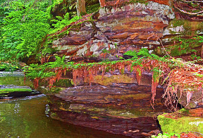 Photograph - Rocky Cliffs 003 by George Bostian
