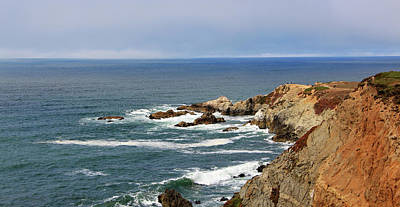 Bodega Bay Photograph - Rocky Cliffs by Sierra Vance