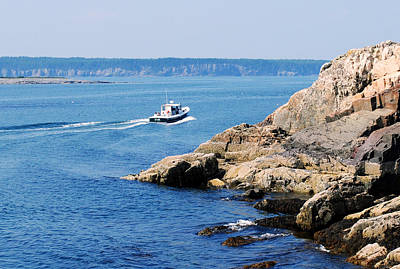 Photograph - Rocky Coast Downeast by Steven Scott