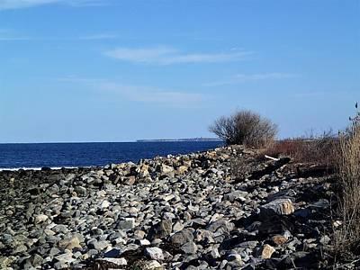 Photograph - Rocky Coast by Lois Lepisto