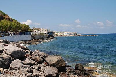 Photograph - Rocky Coast Of Nisyros by David Fowler