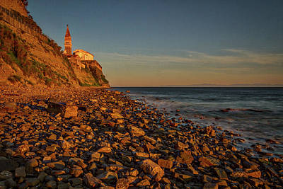 Photograph - Rocky Coast - Piran - Slovenia by Stuart Litoff