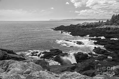 Photograph - Rocky Coastline Downeast Maine by Alana Ranney