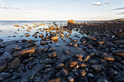 Photograph - Rocky Coastline by John Hoey