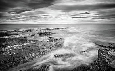 Photograph - Rocky Coastline La Mata by Gary Gillette