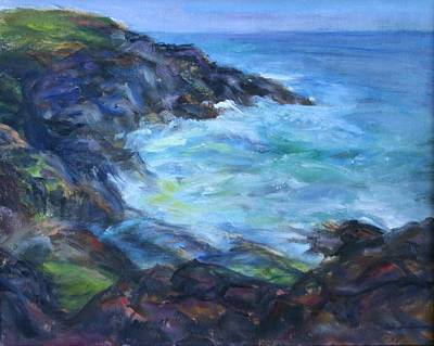 Painting - Rocky Creek Viewpoint by Quin Sweetman