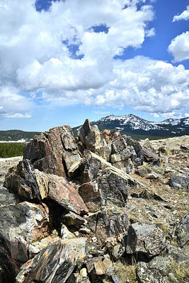 Photograph - Rocky Crest At Big Horn Pass by Ray Mathis