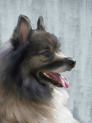 Painting - Rocky by Diane Chandler