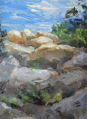 Painting - Rocky Edge by Sharon Weaver